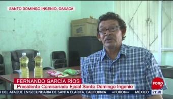FOTO: Habitantes de Oaxaca cambian PET por víveres, 17 noviembre 2019