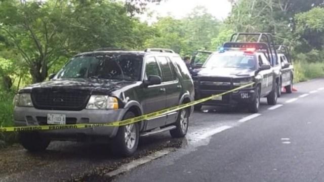 Foto: De acuerdo con los reportes, tres de los cadáveres estaban en la parte trasera de la unidad y dos en la zona del equipaje, al tratarse de una camioneta tipo SUV