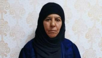 Foto: Rasmiya Awad, de 65 años de edad, fue detenida en la operación junto a su marido, su cuñada y cinco niños cerca de Azaz, 5 de noviembre de 2019 (Reuters)