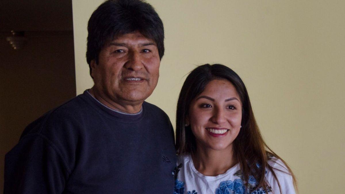 Hija de Evo Molares retira solicitud de asilo