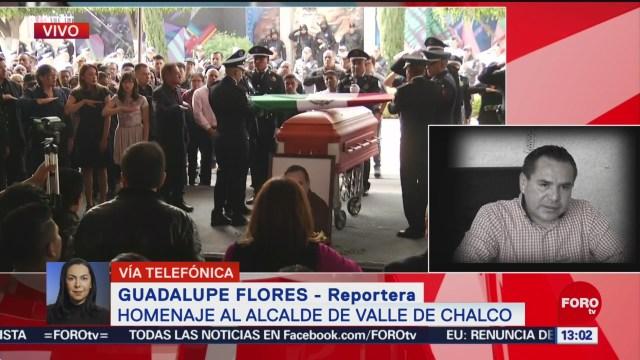 Foto: Homenaje Alcalde Valle De Chalco Francisco Tenorio Hoy 3 de Noviembre