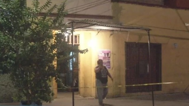 Balacera en una vecindad marcada con el número 37, en la calle de Pintores, 13 noviembre 2019