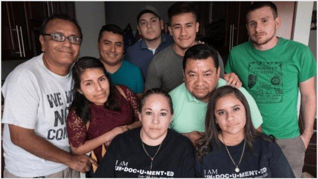 Imagen: Mexicana indocumentada termina huelga de hambre tras una semana, 30 de noviembre de 2019 (Twitter @gary_lovely)