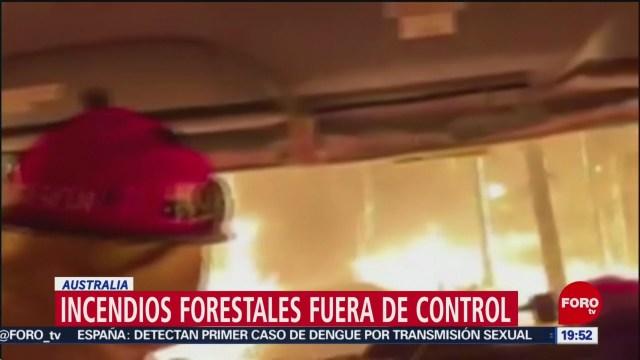 Foto: Incendios Forestales Australia Fuera Control 8 Noviembre 2019