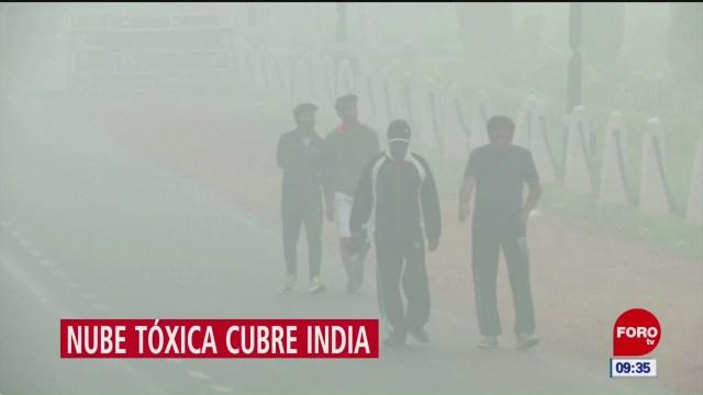India toma medidas para disminuir contaminación ambiental