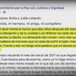 Foto: Javier Sicilia Envía Carta Julián Lebarón Ataque 5 Noviembre 2019