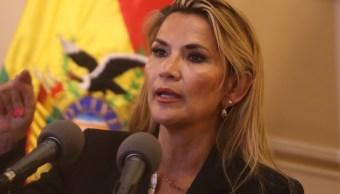 """FOTO Jeanine Áñez: En Bolivia """"no hay golpe de Estado"""" (EFE)"""