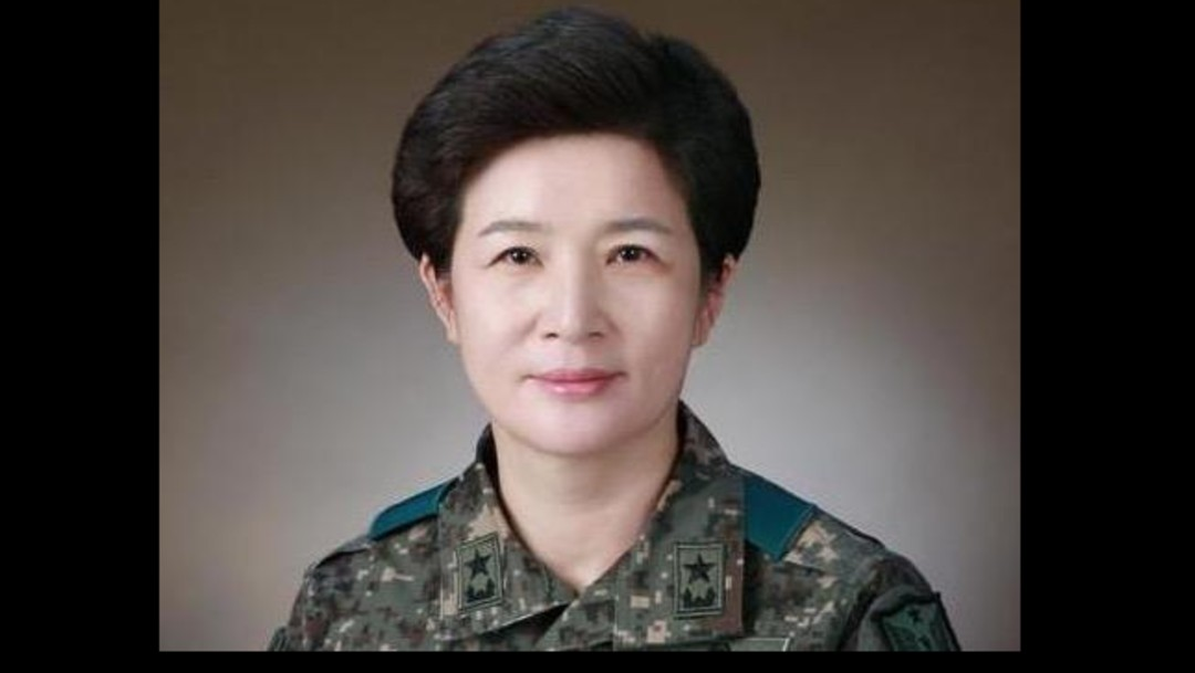 Foto: Kang Sun-young, primera generala en Corea del Sur