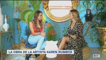 La obra de la artista Karen Rumbos