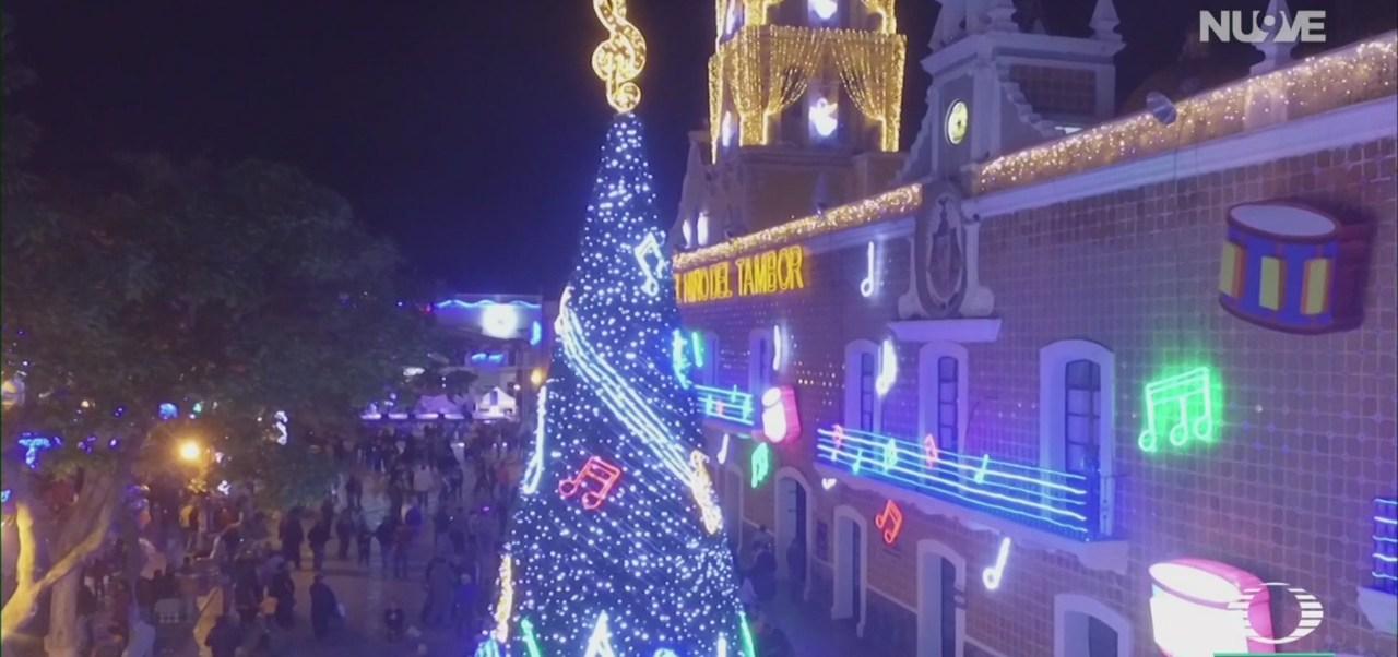 FOTO: villa iluminada Atlixco Puebla