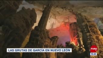 Las grutas de García, en Nuevo León