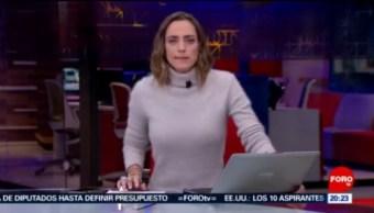 Foto: Las Noticias Ana Francisca Vega Programa Completo Forotv 21 Noviembre 2019
