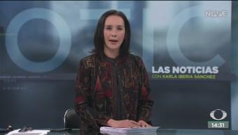 FOTO: Las Noticias, con Karla Iberia: Programa del 15 de noviembre del 2019, 15 noviembre 2019