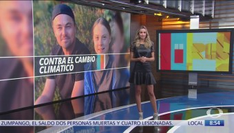 Leonardo DiCaprio se reúne con Greta Thunberg
