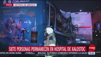 Foto: Lesionados México-Pachuca Permanecen Hospital Xalostoc 20 Noviembre 2019