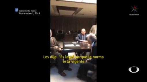Foto: Ley Bonilla Legal Reitera Sánchez Cordero 4 Noviembre 2019