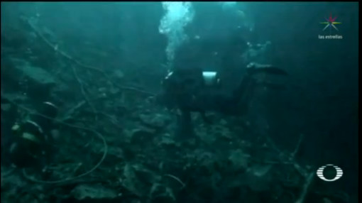 Foto: Limpian Cenotes Yucatán Encuentran Hasta Refrigeradores 21 Noviembre 2019