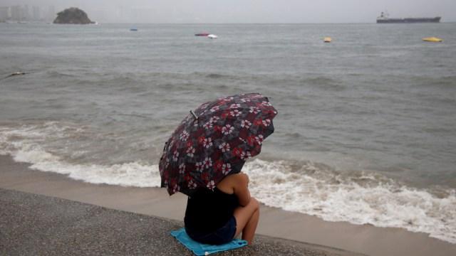 Foto: Lluvias en el puerto de Acapulco, Guerrero, 29 noviembre 2019