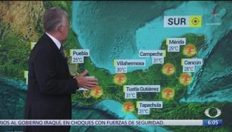 Lluvias en 26 estados este día; se espera que en Sonora sean muy fuertes