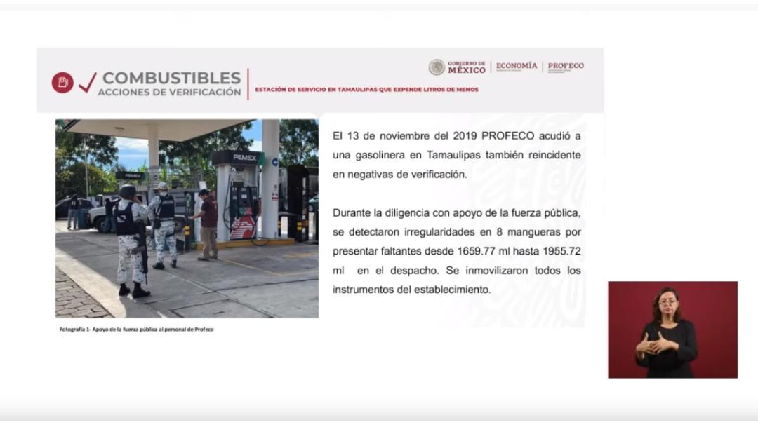 Foto: Localizan gasolinera en Tamaulipas que robaba 10 por ciento de combustible