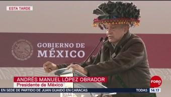 FOTO: López Obrador llama al voto libre y a acabar con la corrupción, 16 noviembre 2019