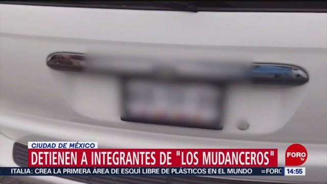 FOTO: 'Los Mudanceros' utilizaban un dispositivo para ocultar las placas del coche, 18 noviembre 2019