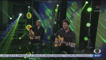 Manuel Carrasco presenta 'Déjame ser' en Al Aire