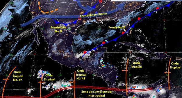 Foto: Imagen de fenómenos meteorológicos significativos de las 06:00 horas, 2 noviembre 2019