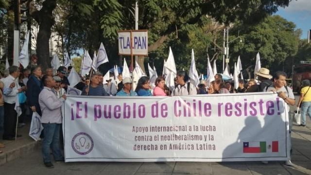marcha reforma por chile