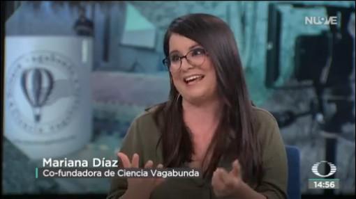 FOTO: Mariana Díaz habla de 'Ciencia Vagabunda', 15 noviembre 2019