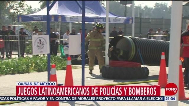 FOTO: México gana Juegos Latinoamericanos Policías Bomberos