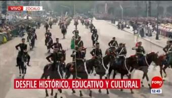 México recuerda 20 de noviembre con desfile conmemorativo en la CDMX (Parte 2)