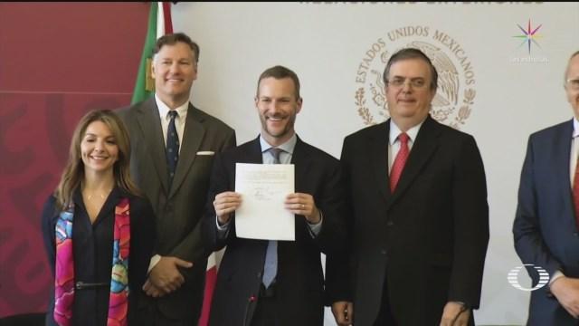 Foto: México Estados Unidos Firman Carta Proyecto Bilateral 8 Noviembre 2019
