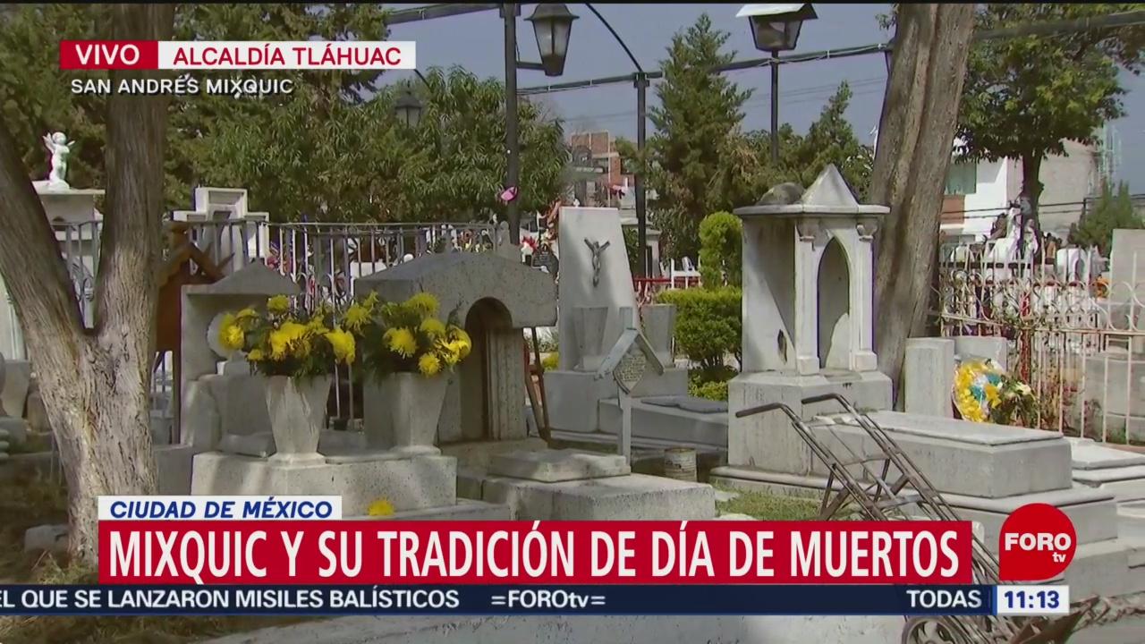 FOTO:Mixquic y su tradición de Día de Muertos, 1 noviembre 2019
