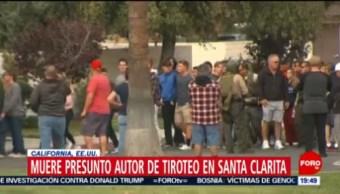 FOTO: Muere autor de tiroteo en escuela de Santa Clarita, California, 15 noviembre 2019