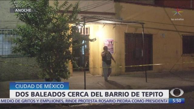 Muere joven durante tiroteo en el barrio de Tepito, en CDMX