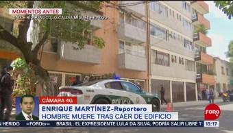 FOTO: Muere Trabajador Tras Caer Edificio Colonia Juárez CDMX