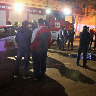 Choque entre taxi y auto en Santa Fe deja un muerto y 5 heridos