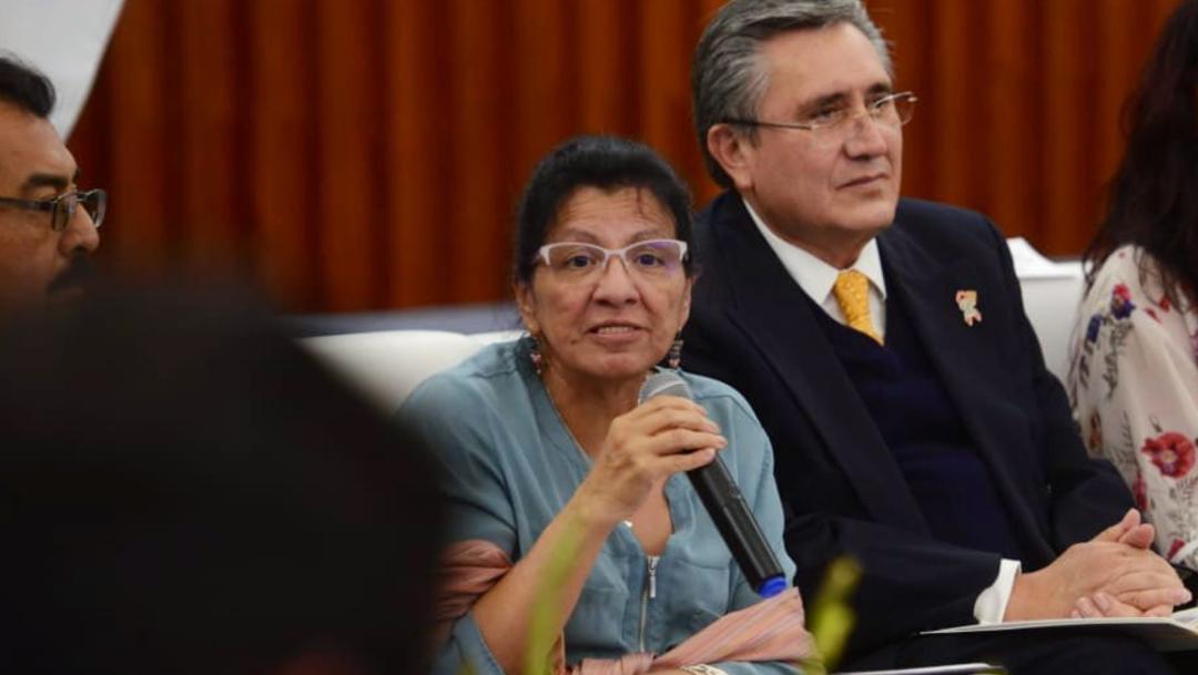 Foto: La ombudsperson recordó que en junio la Comisión Nacional para Prevenir y Erradicar la Violencia contra las Mujeres no emitió la Alerta para la Ciudad de México, 6 de noviembre de 2019 (CDHDF)
