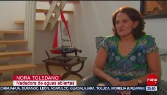 Foto: Nora Toledano Nadadora Más Destacada América Latina 6 Noviembre 2019