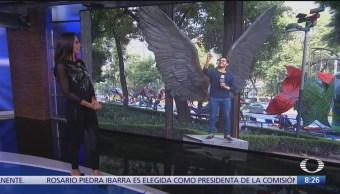 Nueva ubicación de 'Las alas de México' en Reforma