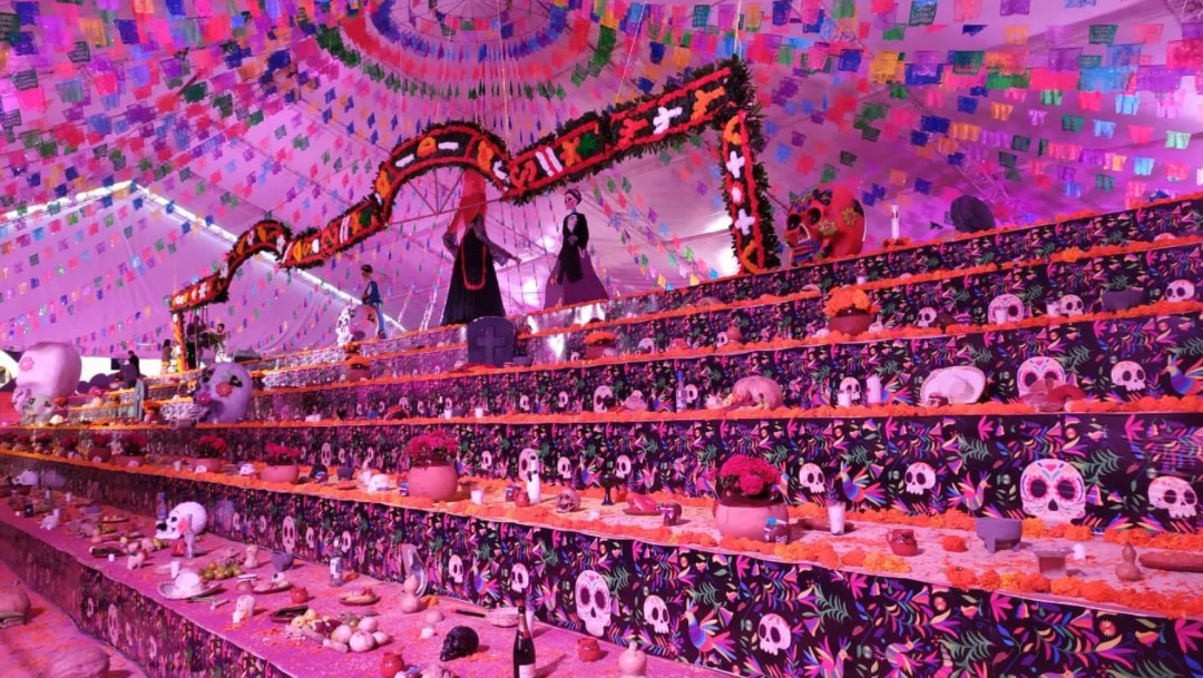 Foto: Hidalgo rompe Récord Guinness de la ofrenda más grande del mundo, 2 noviembre 2019