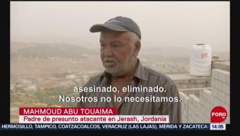 FOTO: Padre agresor Jordania pidió que maten hijo