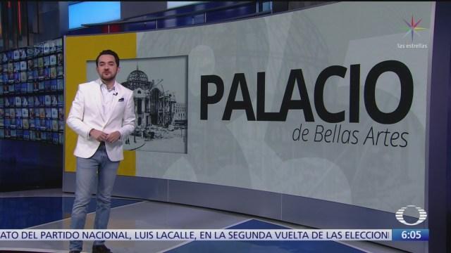 Palacio de Bellas Artes cumple este viernes 85 años