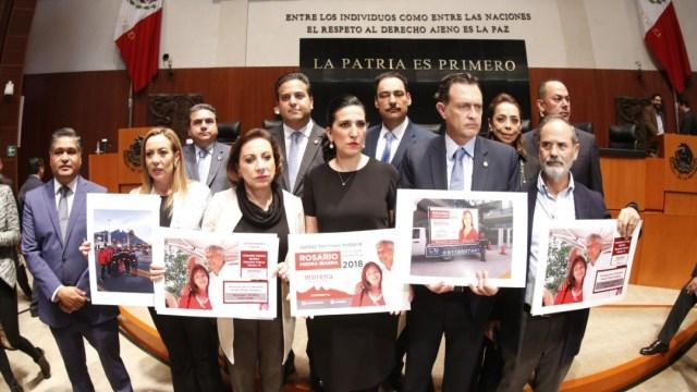 FOTO PAN insiste que hubo 'chanchullo' en elección Rosario Piedra