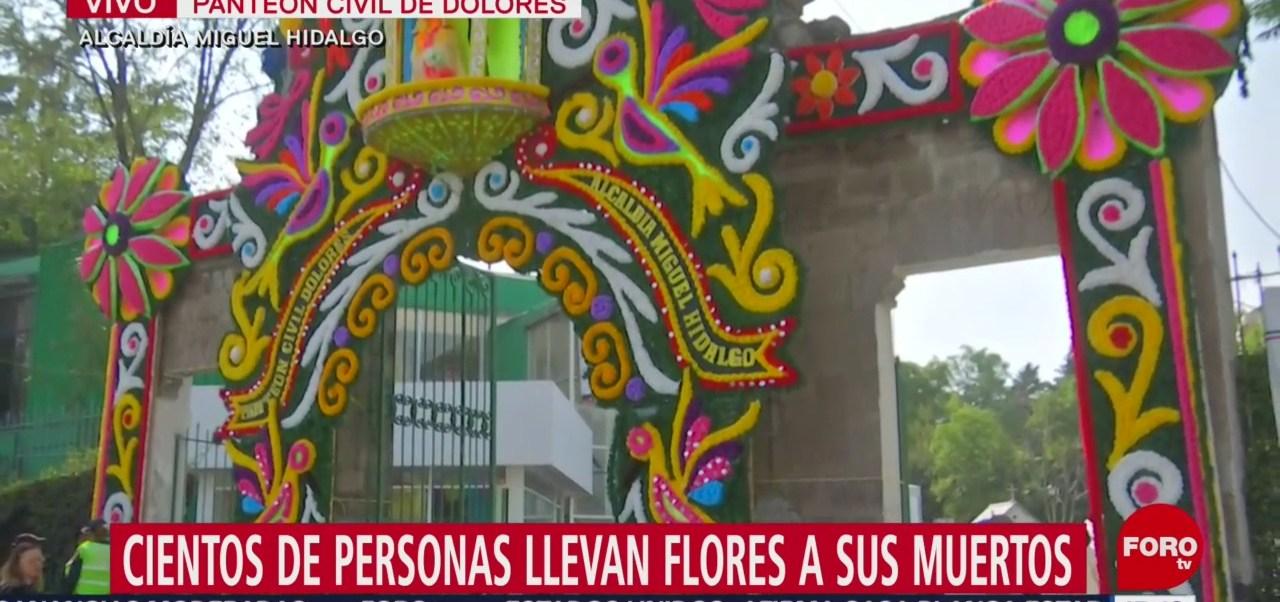 FOTO: Panteón Dolores Espera 150 Mil Visitantes