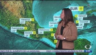 Persisten lluvias fuertes en Baja California, Sonora, Durango y Sinaloa