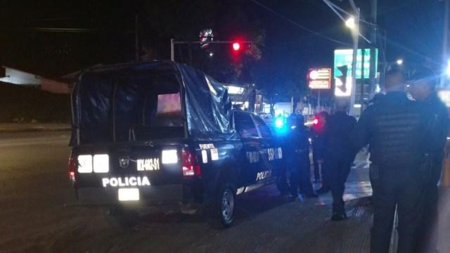 Fotografía que muestra una patrulla de la Policía de la CDMX, 1 octubre 2019