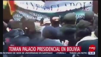 FOTO: Policías tomaron Palacio Presidencial en Bolivia, 10 noviembre 2019