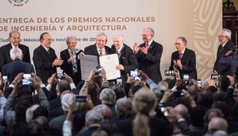 Entrega de los Premios Nacionales de Ingeniería y Arquitectura